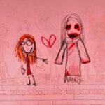 子供が書いた恐怖の絵、奇妙な絵は心のサイン?