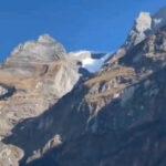 ヒマラヤで雪崩発生の瞬間、麓にいてもこれだけ威力あって怖E…