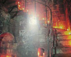 RPGのラスボスダンジョンっぽい雰囲気が半端ないカタコンベ(地下墓地)写真、ちょっと怖い…