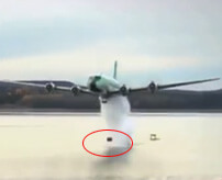 ダム破壊に特化した反跳爆弾、航空機からを投下してダムを破壊してみた