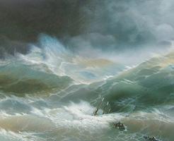 迫りくる荒れ狂う波!舷窓まで波打つ中でクルーズ、生きた心地がしない…