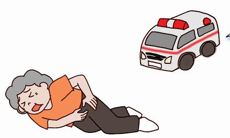 イタァィ!!救急車が負傷者を轢いてトドメを刺しにくるとんでも失態