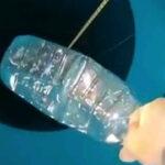 ペットボトルがぐちゃぐちゃに…持ったままダイビングすると水圧でこうなる