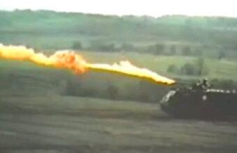 射程距離200メートル←火炎放射戦車の威力が斜め上過ぎた件