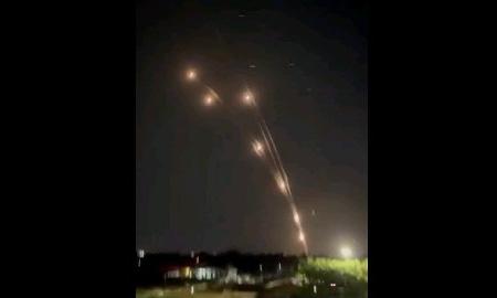 ロケット弾130発射、イスラエルが攻撃されるも防空システム「アイアンドーム」で迎撃
