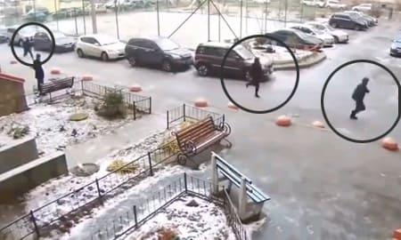 ロシア警察さん、メンバー全員がコメディ劇を演じる大失態で犯罪者を取り逃すwww