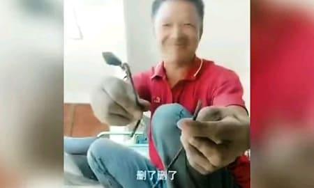 素手で折れる鉄 ← 中国の建造物に使われている脆すぎる材料…他、謎の揺れでビルから逃げる人々