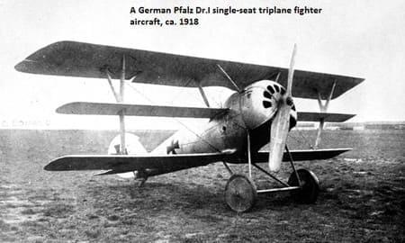 航空技術がまだ黎明期だった時の戦闘機ギャラリー